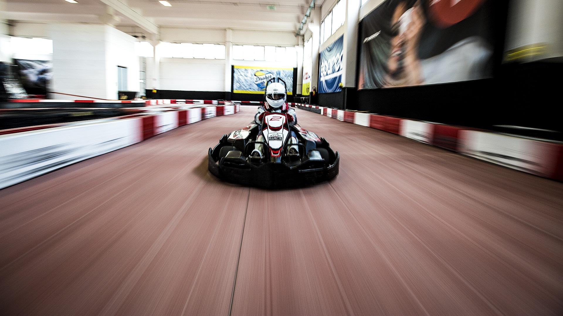 Go kart elettrici con potenza superiore ai motori classici delle altre piste